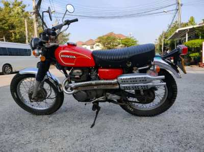 Honda cl350 for sale with green book register