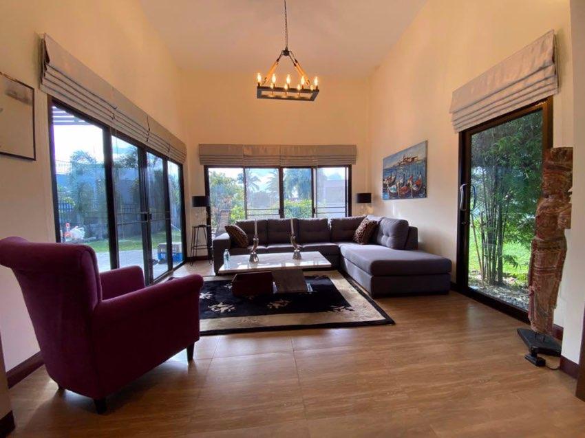 modern house for sale on big plot