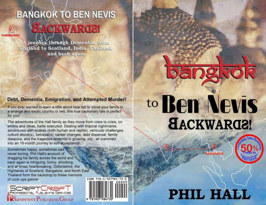 Bangkok to Ben Nevis Backwards: BRAND NEW - FREE SHIPPING in Thailand