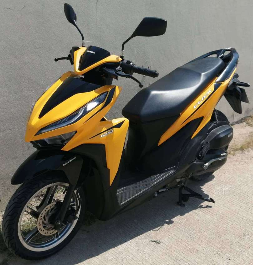 All new Honda Click 125/150 rent 2.125 ฿ (6M cont) monthly 2.500 ฿