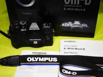 OLYMPUS OM-D E-M10 Mark III Wi-Fi, 4K video, Black Body in box