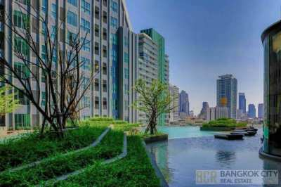 Ideo Q Chula Samyan Luxury Condo High Floor Studio Unit Special Price