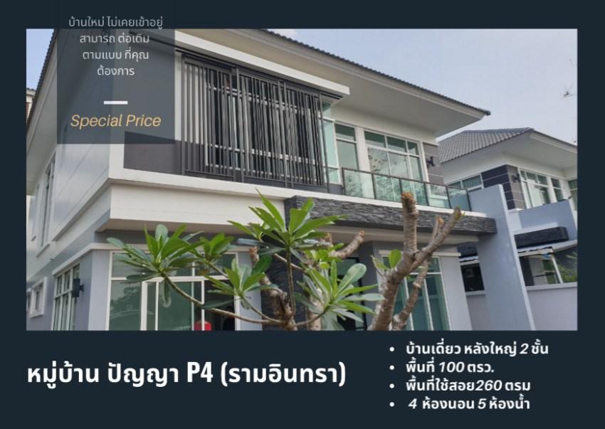 Sale House The Ozone Panya Indra