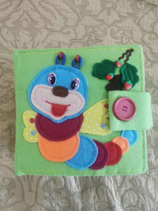 Felt book for kids