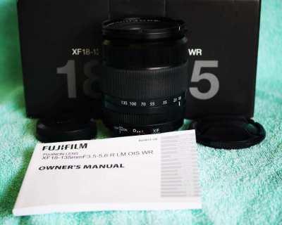 Fuji Fujinon XF 18-135mm f3.5-5.6 R LM OIS WR Black Lens in Box