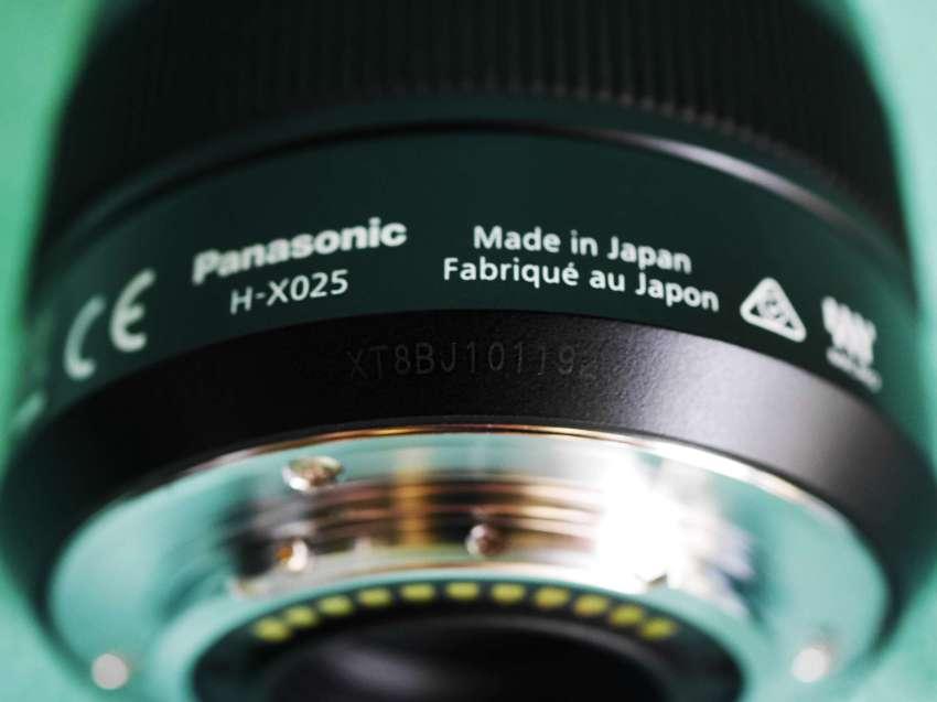 Panasonic LUMIX G Leica DG Summilux 25mm f/1.4 ASPH Lens in Box