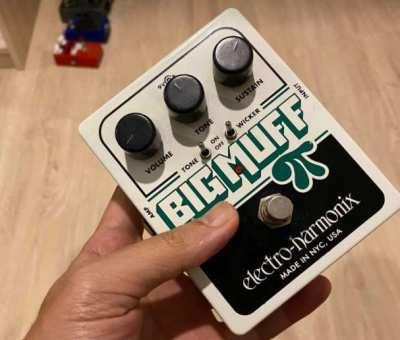 Big Muff Pi Tone wicker distortion pedal
