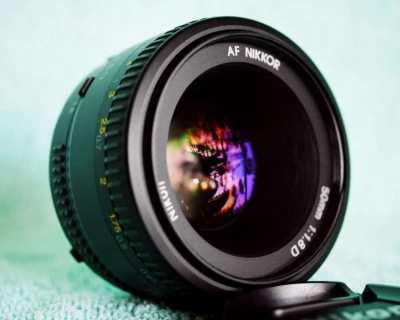 Nikon Nikkor 50mm f1.8D AF Prime Lens for Nikon DSLR Cameras