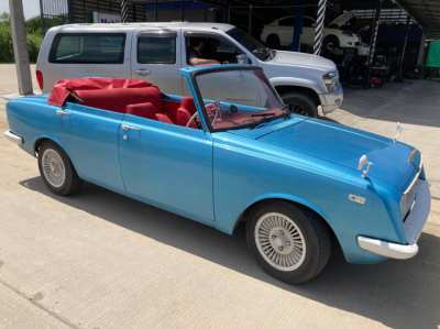 Toyota Corolla Cabriolet - the only one in the world
