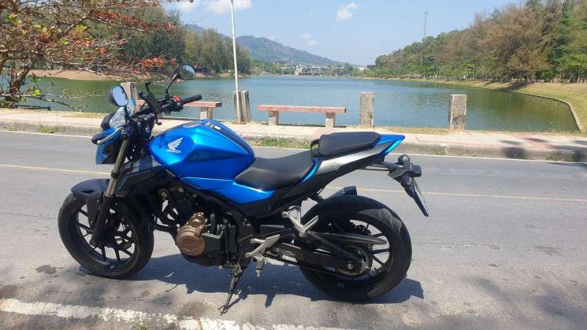 Honda Cbf  500cc 2018 11000 kms