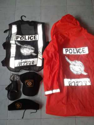 5 Police items for sale