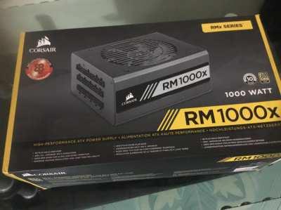 Corsair RM1000x — 1000 Watt 80 PLUS®