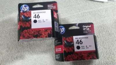 Two HP Ink Cartriges black for free