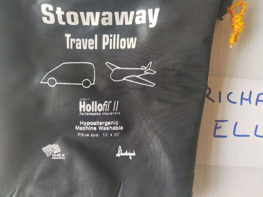 Karana Travel Gear Sleeping Bag & Stowaway Travel Pillow