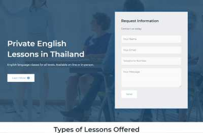 Ready Made Online Tutoring Website for Sale