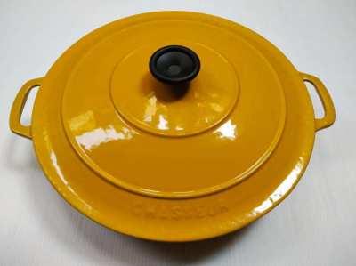 Chasseur Invicta Cast Iron 30cm Round Casserole