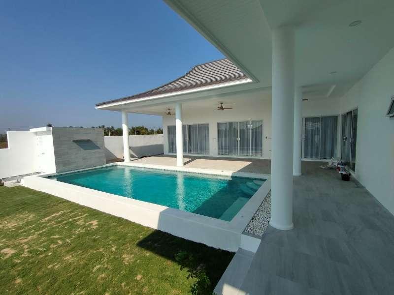Hot! New Quality Foreign Built Semi - Furnished 3 BR 3 Bath Pool Villa