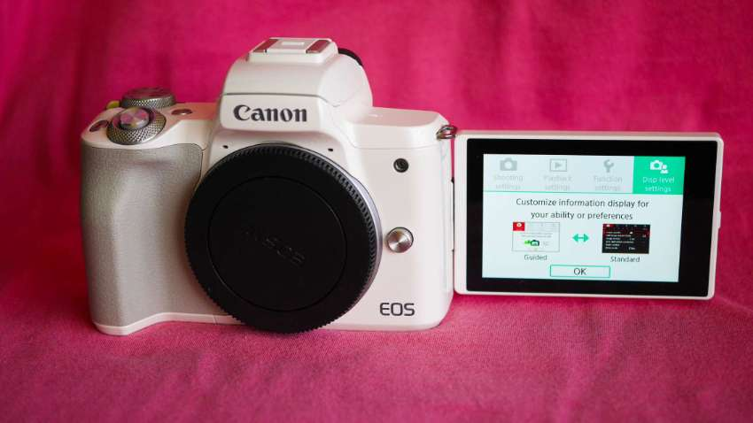 Canon EOS M50 and EOS Kiss M 4K Video Wi-Fi NFC Camera Bodies White