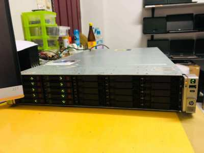 HP ProLiant DL380 SERVER GEN8-XEON E5-2690 x2(16/32core)-Ram128 GB-Tra