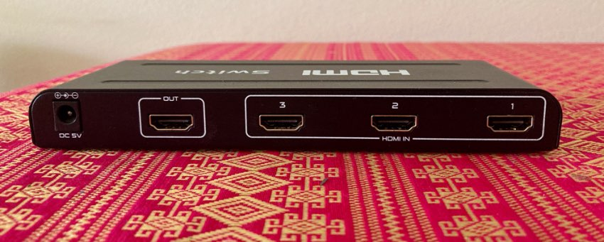 HDMI 3 WAY SWITCH
