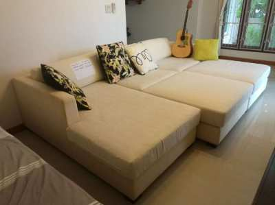 Four Piece Sofa Set