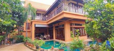 Beautiful 4-storey house for sale, Thai-Bali style, South Jomtien