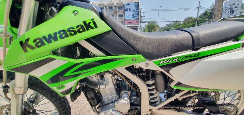 Kawasaki KLX250   ***parked in Hua Hin***