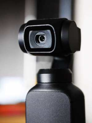 DJI Osmo Pocket - 3-Axis Gimbal Stabilizer, 12MP, 4K 60fps Video