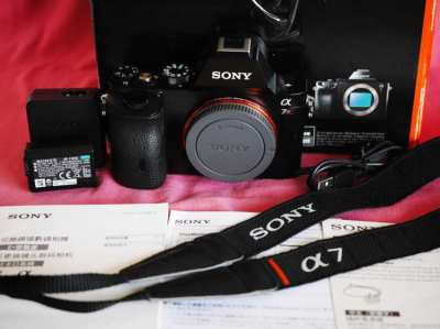 Sony A7R 36.4MP with Apps, WiFi NFC Full-Frame Body
