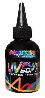 UV LED PLUS INK 100ml Black ( Soft )
