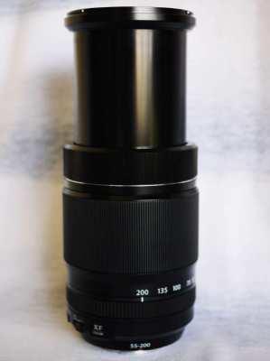 Fujifilm Fuji Fujinon XF 55-200mm f/3.5-4.8 R LM OIS Black Lens