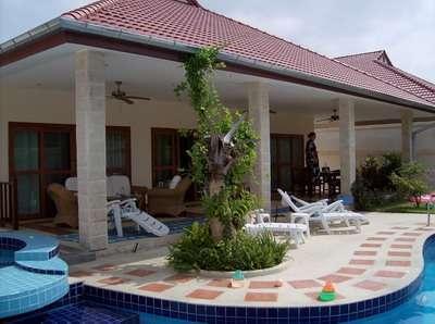 Vacation pool villa Hua hin for rent