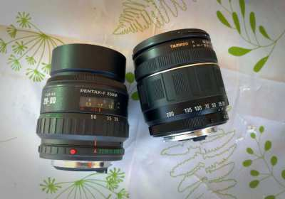 Two AF zooms for Pentax for sale