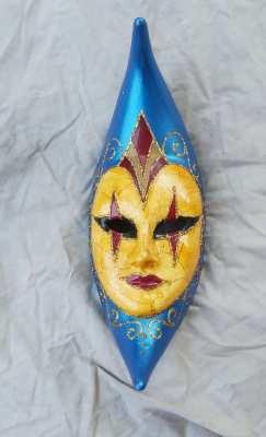 Venice Festival Moon Mask
