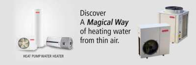 Hot Water Solution for Cold Places, Hydro Heat Pump, Electric Boiler