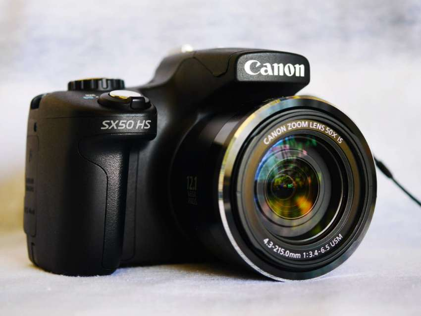 Canon PowerShot SX50 HS Camera (24 – 1200mm Lens) 50X Zoom