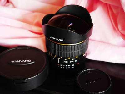 Samyang for Nikon 8mm f3.5 Ultra Wide Angle f/3.5 Fisheye CS Lens
