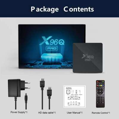 Android TV Box New 2021 X96Q PRO ram2/rom16 Andriod 10