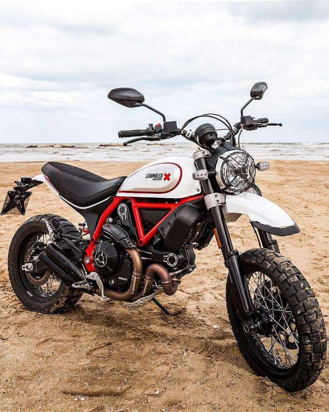 Delivery mileage only Ducati Scrambler Desert Sled