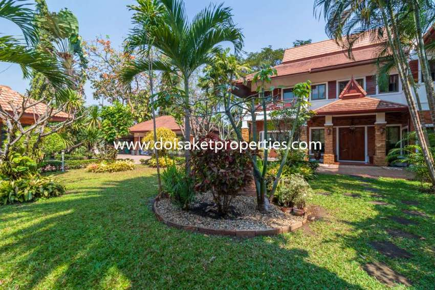 (HS304-05) Incredible 5+ Bedroom Home for Sale in Chiang Mai