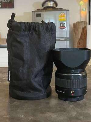 Panasonic DG Summilux 25mm Asph. f/1.4 Prime Lens