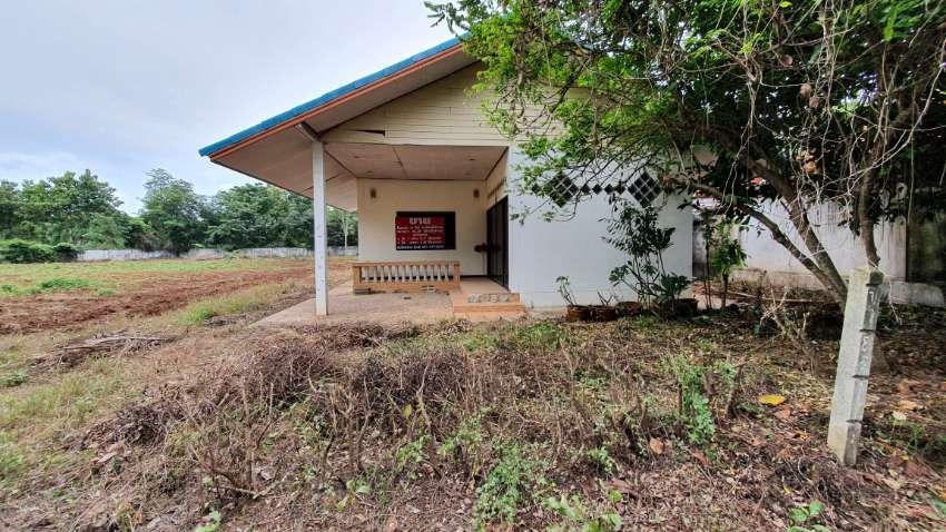 3 Rai with small house in Phetchabun City, near Rajabhat University.