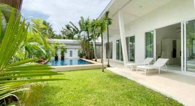 Luxury 3 Bedroom pool villa for Rent in Paklok, Phuket
