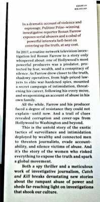 Catch And Kill by Ronan Farrow..
