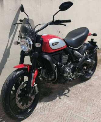 01/2020 Ducati Scrambler ICON 800 179.900 ฿ Finance by shop