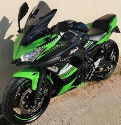10/2020 Kawasaki Ninja 650 1.xxx km 159.900 ฿ Finance by shop