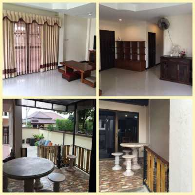 Lovely Family House for rent in Baramee Village, Bang Saray