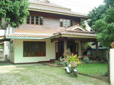 House for rent near SamYak market on DoiSaKet Rd.
