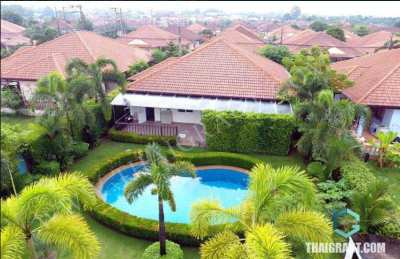 House for sale in Pattaya Tropical  Village.