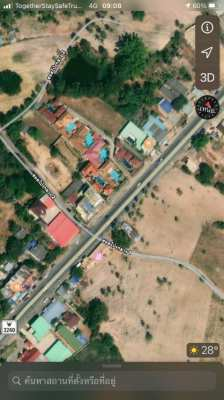 Commercial building+House, with BIG land for sale near Mabprachan Lake